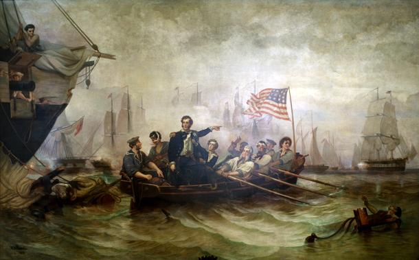 エリー湖の湖上戦